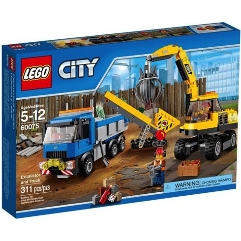 LEGO 60075 - City - Markoló és teherautó