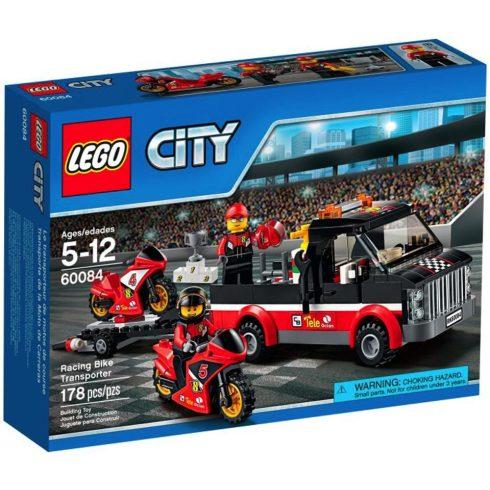 LEGO 60084 - City - Versenymotor-szállító kamion