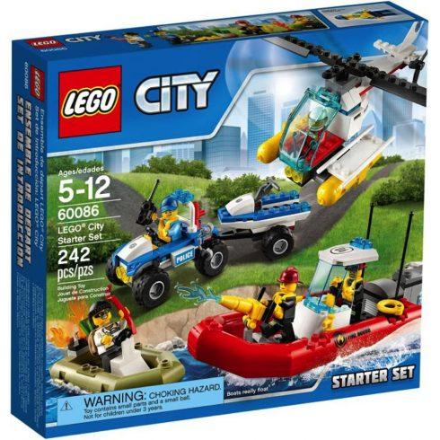 LEGO 60086 - City kezdő készlet