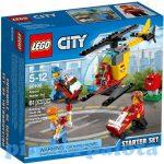 Lego játékok - 60100 LEGO City Repülőtér kezdőkészlet