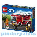 Építőjátékok - Építőkockák - 60107 LEGO City - Létrás tűzoltóautó