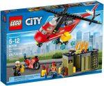 Építőjátékok - Építőkockák - 60108 LEGO City Sürgősségi tűzoltó egység