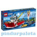 Építőjátékok - Építőkockák - 60109 LEGO City - Tűzoltóhajó