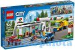 Építőjátékok - Építőkockák - 60132 LEGO City Benzinkút
