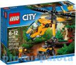 LEGO - City - LEGO City 60158 Dzsungel teherszállító helikopter