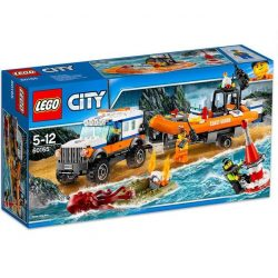LEGO City - LEGO City 60165 4 x 4 Sürgősségi egység