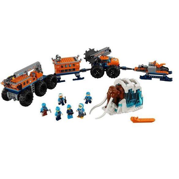 Lego - Lego City - 60195 Lego City sarkvidéki mobil kutatóbázis