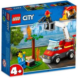 LEGO City - 60212 Lego Kiégett grill tűzoltó autó