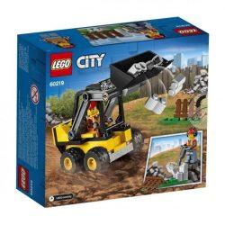 LEGO City - 60219 Lego Építőipari rakodó markolóautó