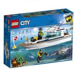 LEGO City - 60221 Lego Búvár yacht hajó