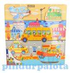 Fa puzzle - Kirakós játékok - Fa puzzle gyerekeknek