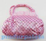 Táska Kislányoknak - Baby táska rózsaszín strasszokkal