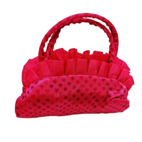 Táskák - Baby táska pink strasszokkal