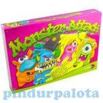 Ügyességi játékok - Monster Attack társasjáték - Csapd le a gyurmaszörnyet!