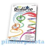 Kreatív hobby - Kifestők - Pingáló pörgettyű Doodletop design szett