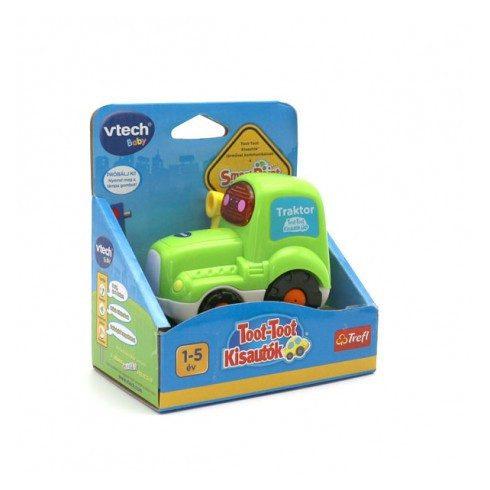 Fejlesztő játékok babáknak - Toot-Toot traktor magyarul beszélő baba játék V-tech