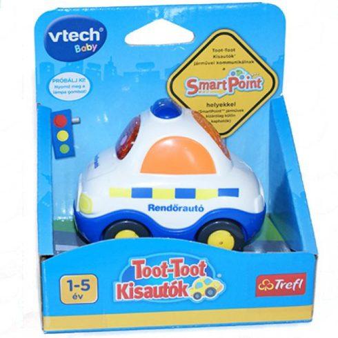 Fejlesztő játék kisbabáknak - Toot-Toot kisautók rendőr autó magyarul beszélő baba játék V-TECH