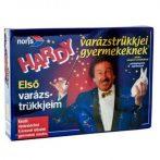 Fiús játékok - Hardy varázstrükkjei bűvész felszerelés gyerekeknek