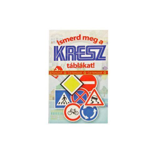 Kártya játékok - Kresz tábla oktató kvartett kártyajáték - Cartamundi