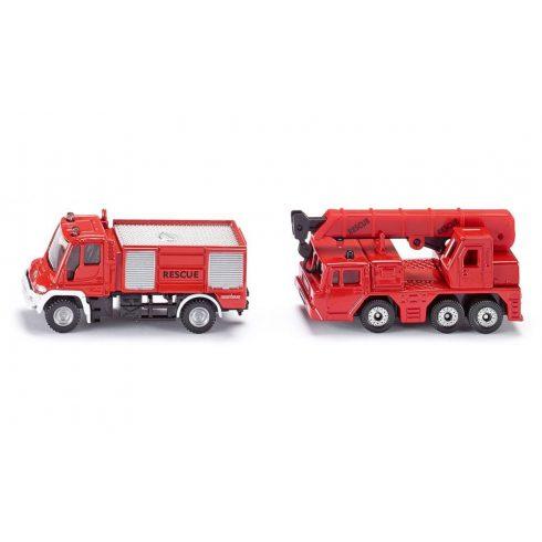 Játék autók - SIKU tűzoltóautó - 1661