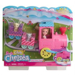 Játék - kellékek babázáshoz - Barbie Chelsea baba vonatta