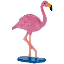 Állat figurák - Háziállatok - Vadállatok - Bullyland flamingó rózsás