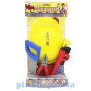 Fiús játékok - Barkács készlet sisakkal