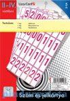 Írószerek-iskolaszerek - Szám- és jelkártya 2-4. osztályosoknak