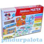 Fejlesztő játékok gyerekeknek - Játékos Matek Sapientino Clementoni