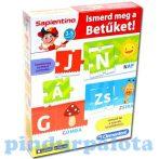 Fejlesztő játékok - Ismerd meg a betűket! Sapientino Clementoni