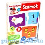 Fejlesztő játékok - Számokat! Sapientino Clementoni