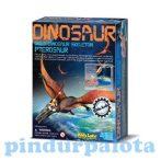 Kreatív hobby - Készletek - Régész játék Pteroszaurusz ásatás 4M