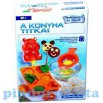 Oktató játékok gyerekeknek - A konyha titka Clementoni