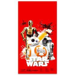 Ajándék tasakok - Díszzacskók - Műanyag mikulászacskó XL, Star Wars 7