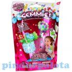 Fűzős játékok gyerekeknek - Gyöngyök - Gemmies virágok kristálygyöngyös kreatív készlet