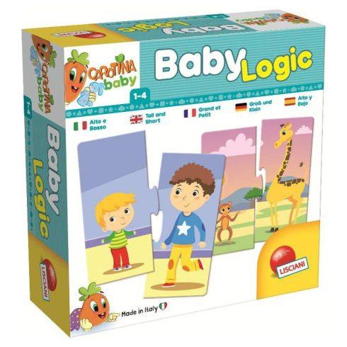 Baby Logic Magas és alacsony párosító játék Lisciani