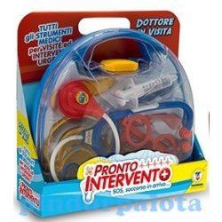 Szerepjátékok - Orvosos játékok - Doktor táska 10 részes