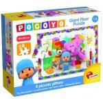 Baby kirakók - Puzzle - Pocoyo földön kirakható puzzle, festenek a barátok mintával