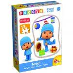 Baby kirakók - Puzzle - Pocoyo formapuzzle, játékok mintájával