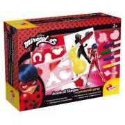 Rajzkészség fejlesztő játékok - Miracoulous Katicabogár Rajzolóiskola Spray festő