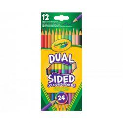 rószerek - Herlitz - Pelikán - Ico - Crayola - Kétvégű színesceruza 12db-os Crayola