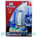 Puzzle kirakók - 3D Burj al Arab puzzle