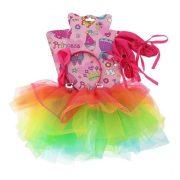 Jelmezek - Jelmez kiegészítők - Jelmez balerina szivárvány színű