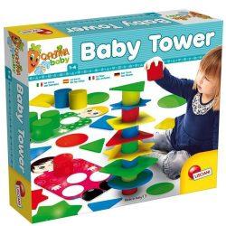Fejlesztő játékok - Bébi játékok - Carotina Baby Tower Toronyépítő és forma játék Lisciani