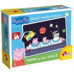 Gyerek Puzzle - Kirakósok - Peppa az űrben parkettpuzzle