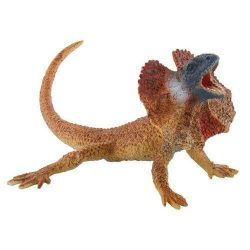 Figurák - Állatok - Bullyland galléros gyík
