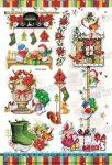Matricák - Karácsonyi matrica csomag kézi készítésű