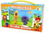 Gyerek Puzzle - Kirakósok- Minimax mesekocka 6db
