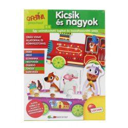 Egyszerű puzzle gyerekeknek - Carotina Preschool - kicsik és nagyok