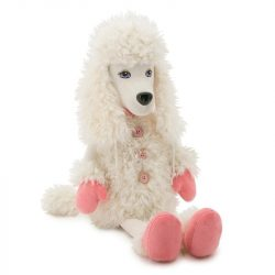 Plüss kutyák - Mollie the Poodle Plüss kutya, Orange Toys